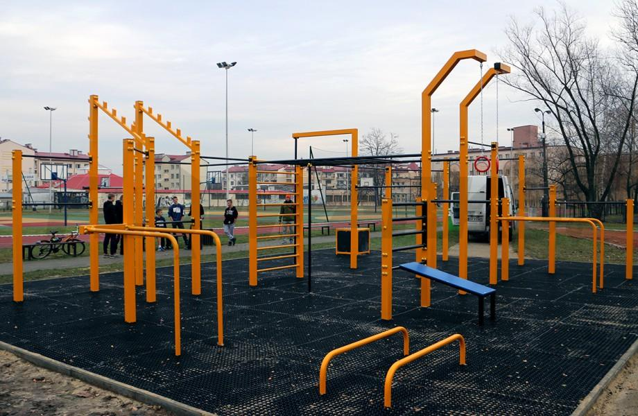 Gliwice Street Workout Park