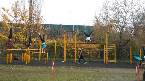 Street Workout Park Świętochłowice 118