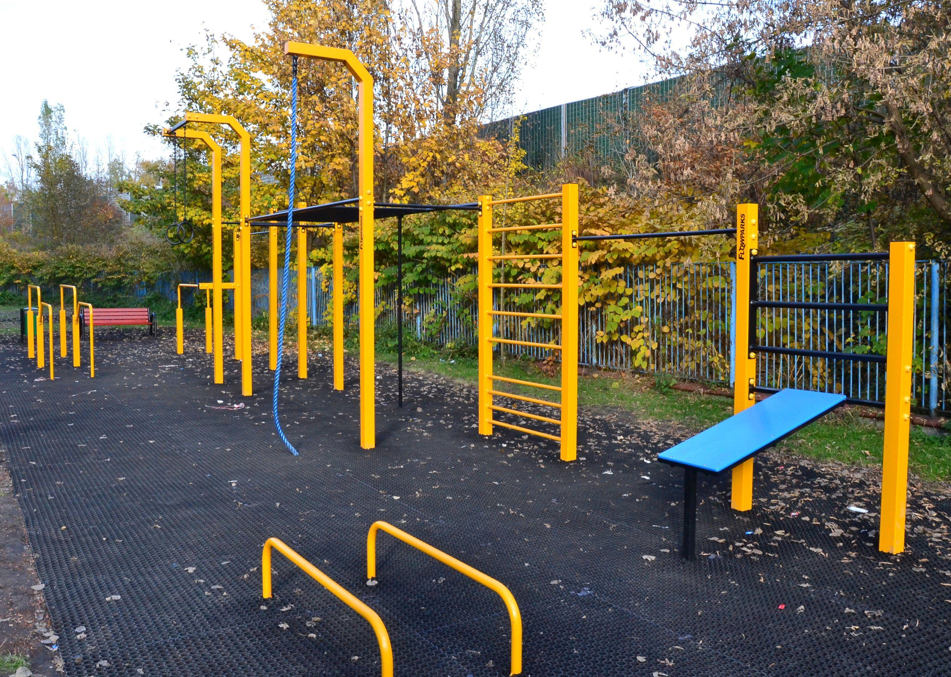 Street Workout Park Świętochłowice