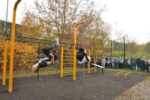 Street Workout Park Świętochłowice 117