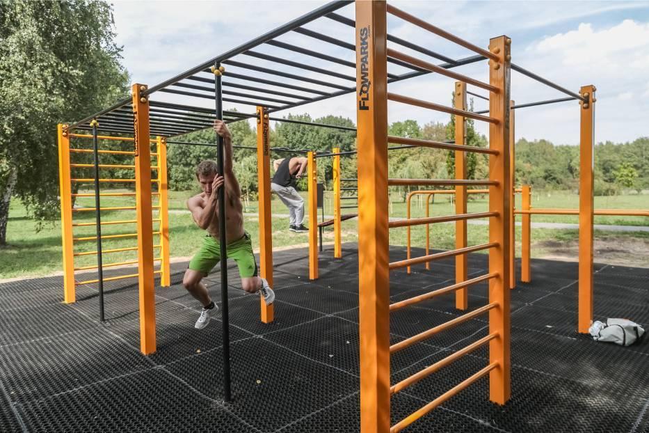 Street Workout Park Kraków Arena